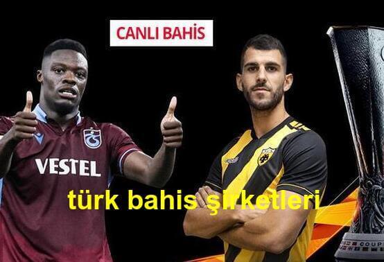 türk bahis şirketleri oranları